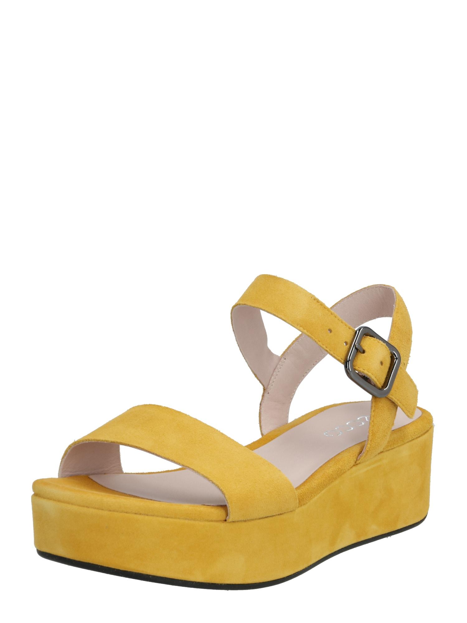 ECCO Sandále  žlté