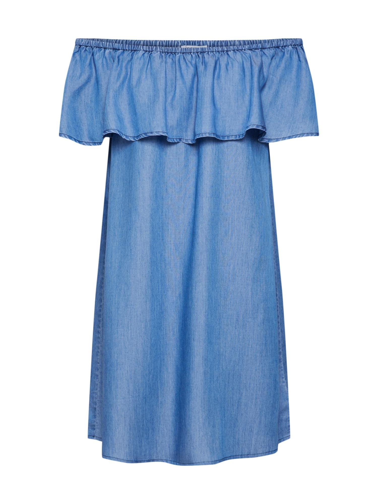 ABOUT YOU Vasarinė suknelė 'Mia' tamsiai (džinso) mėlyna