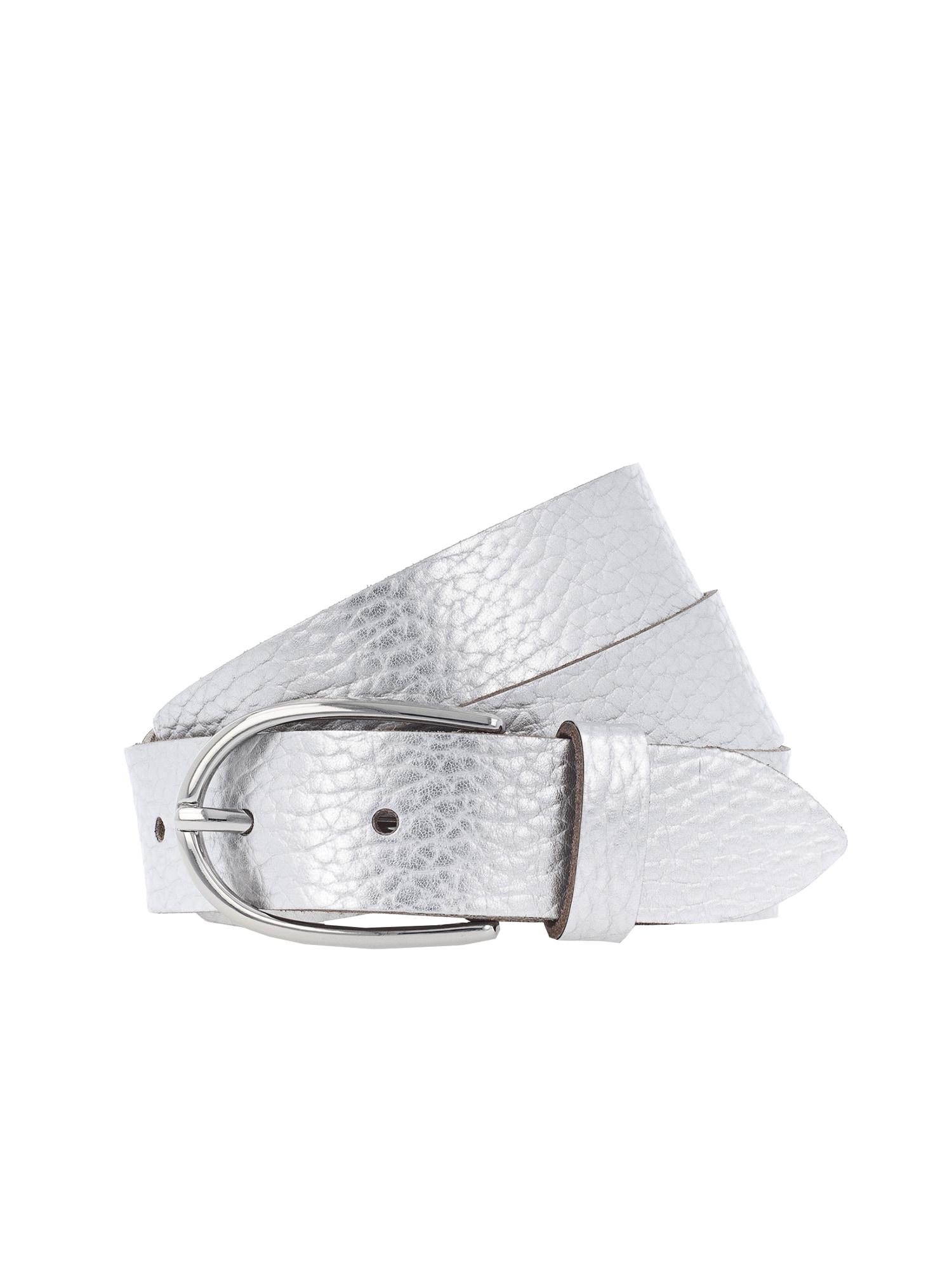 Opasek Metallic 3cm stříbrná VANZETTI