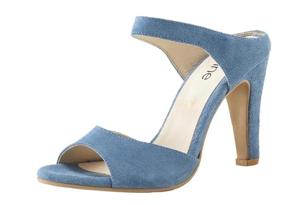 Sandalen für Frauen - Heine Sandalette himmelblau  - Onlineshop ABOUT YOU
