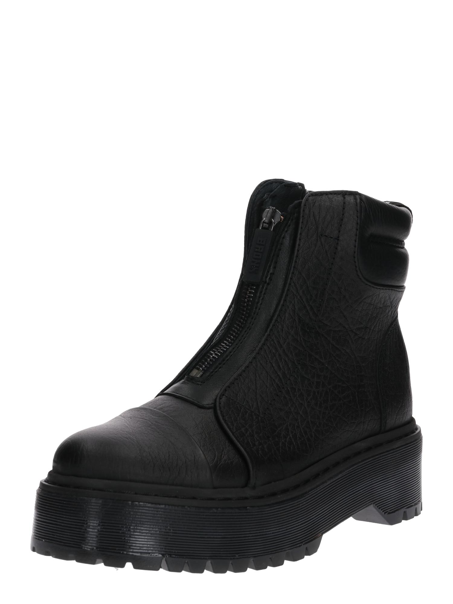 BRONX Auliniai batai 'RIFKA-SUPER-CHUNKY' juoda