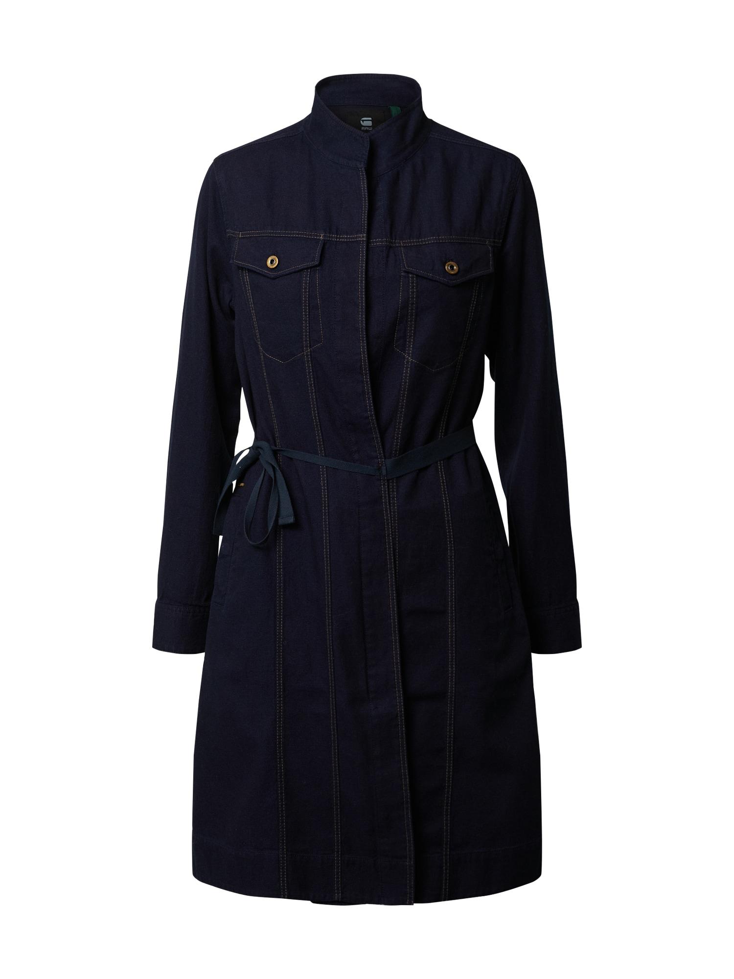 G-Star RAW Palaidinės tipo suknelė juoda