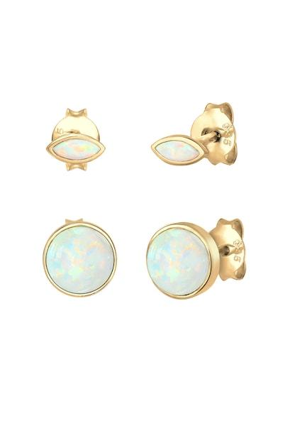 Ohrringe für Frauen - Ohrringe 'Opal' › ELLI › gold  - Onlineshop ABOUT YOU