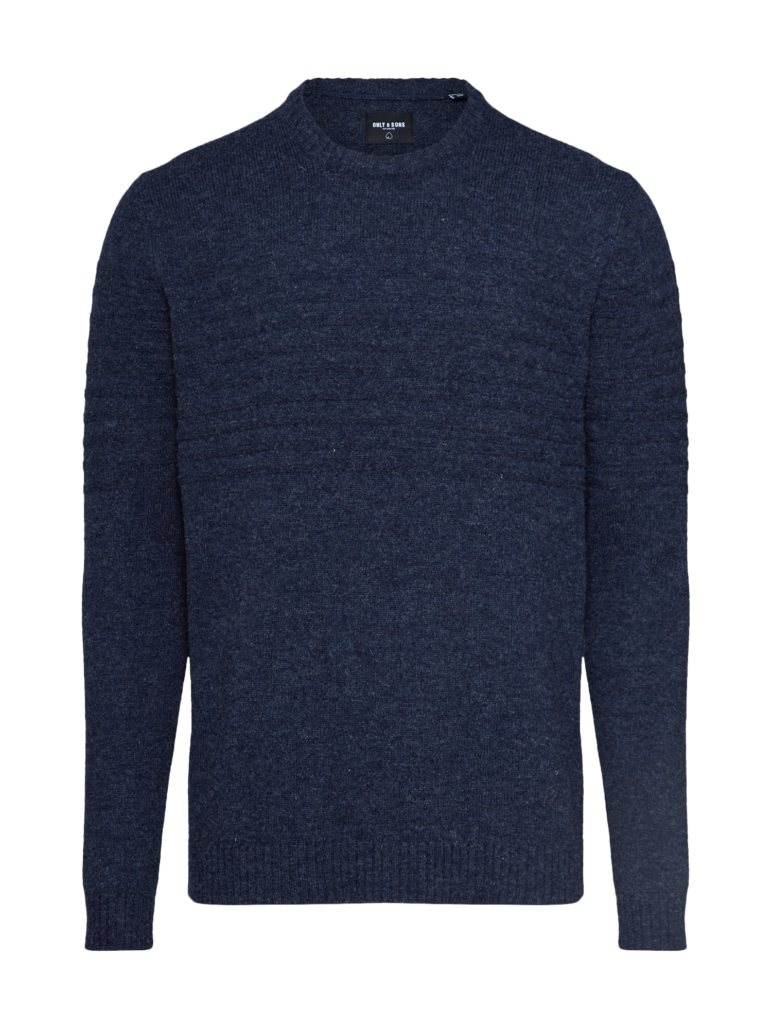 Only & Sons Megztinis 'onsHOWARD 7 SOFT CREW NECK KNIT' tamsiai mėlyna
