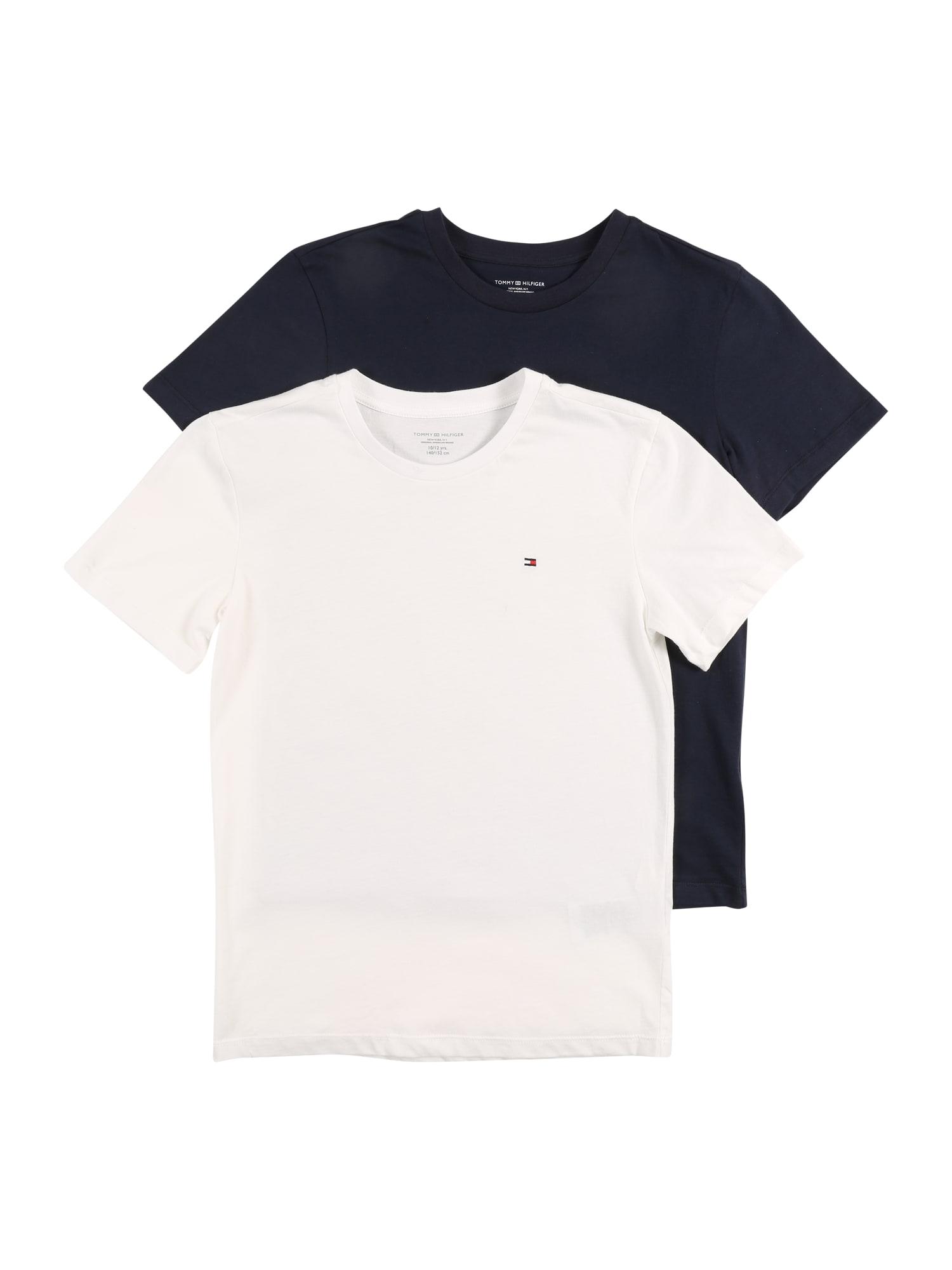 Tričko námořnická modř bílá Tommy Hilfiger Underwear