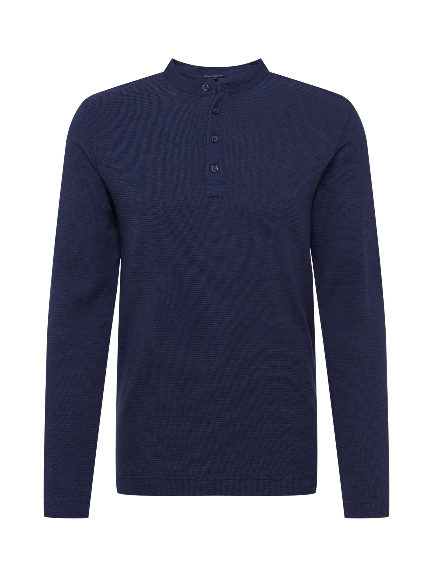 DRYKORN Marškinėliai 'LENIUS' tamsiai mėlyna