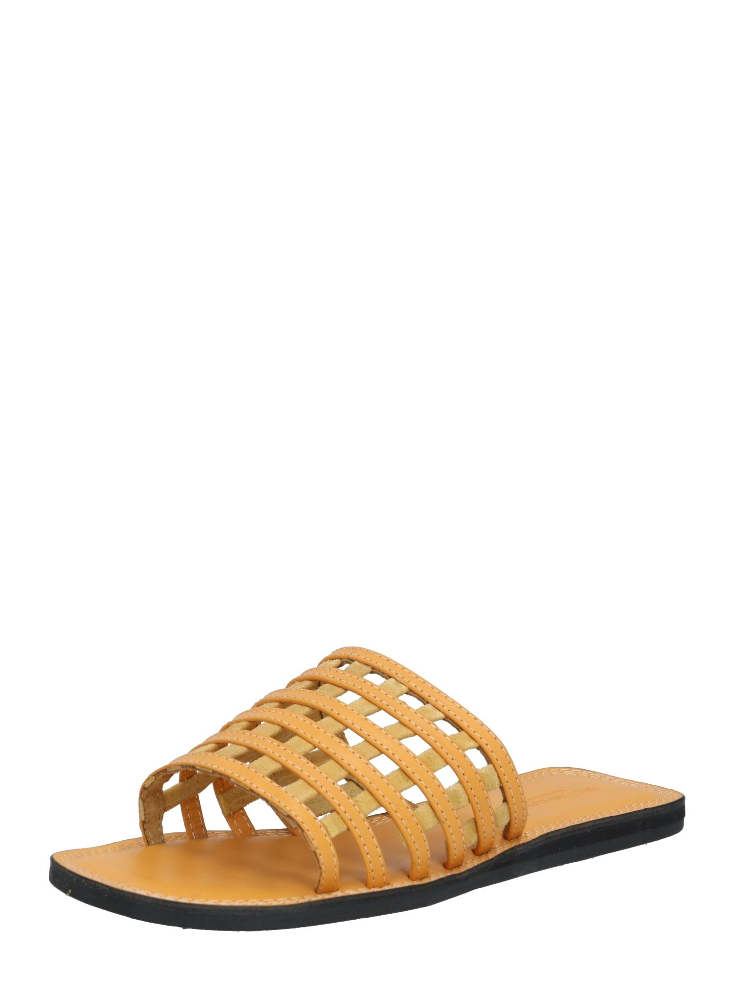 Shoe The Bear Saboți 'TAO CAGE'  galben