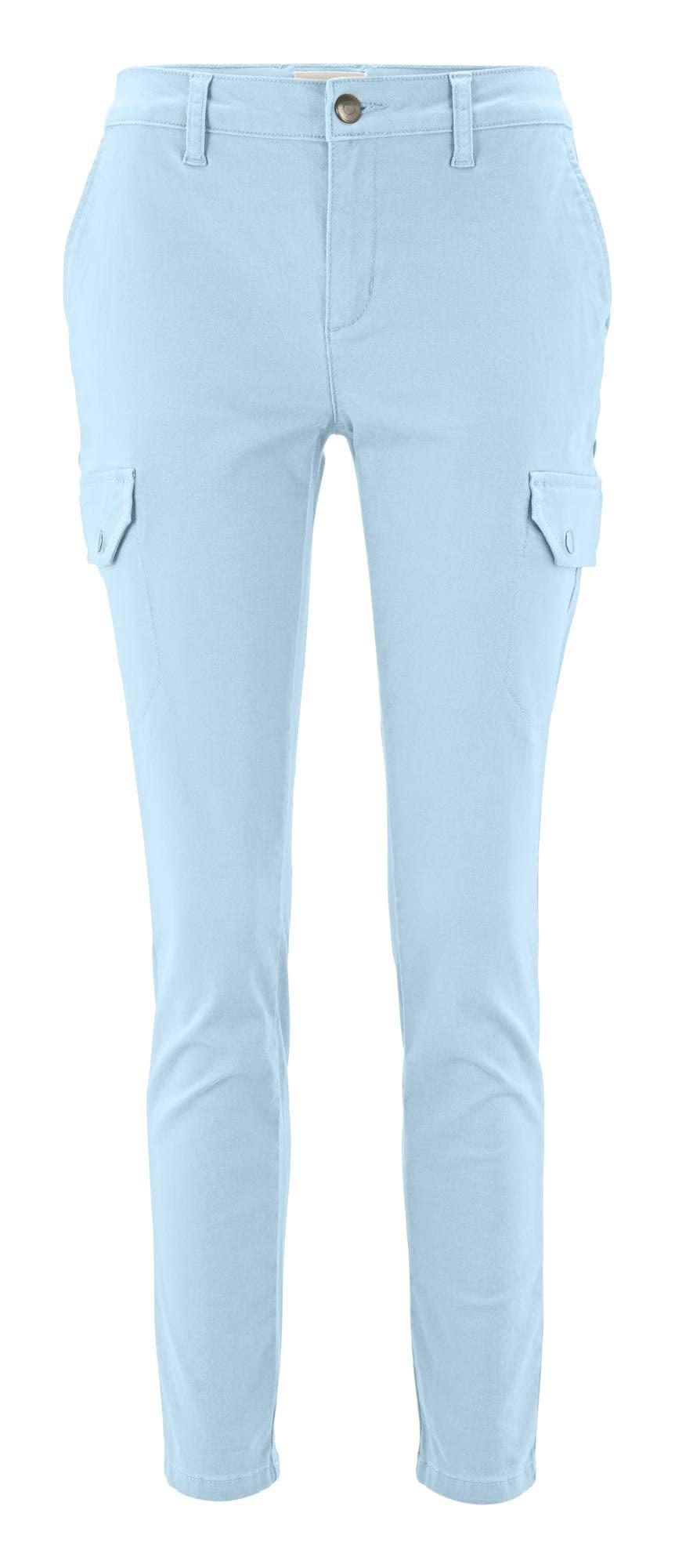 heine Laisvo stiliaus kelnės šviesiai mėlyna