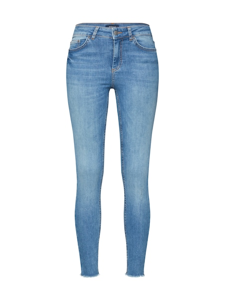 Hosen - Jeans 'PCDELLY MW SKN CRP JNS NOOS' › Pieces › blue denim  - Onlineshop ABOUT YOU