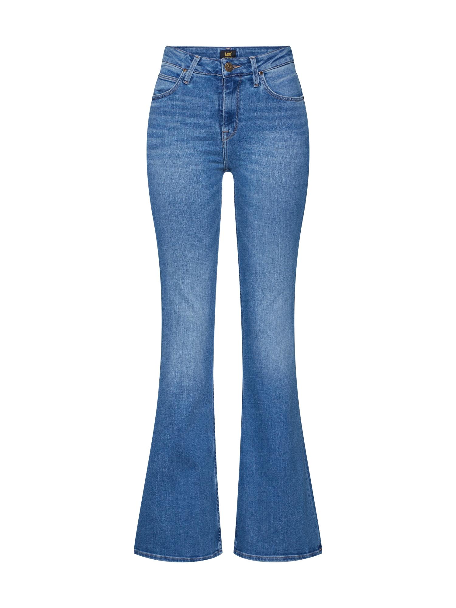 Lee Džinsai tamsiai (džinso) mėlyna