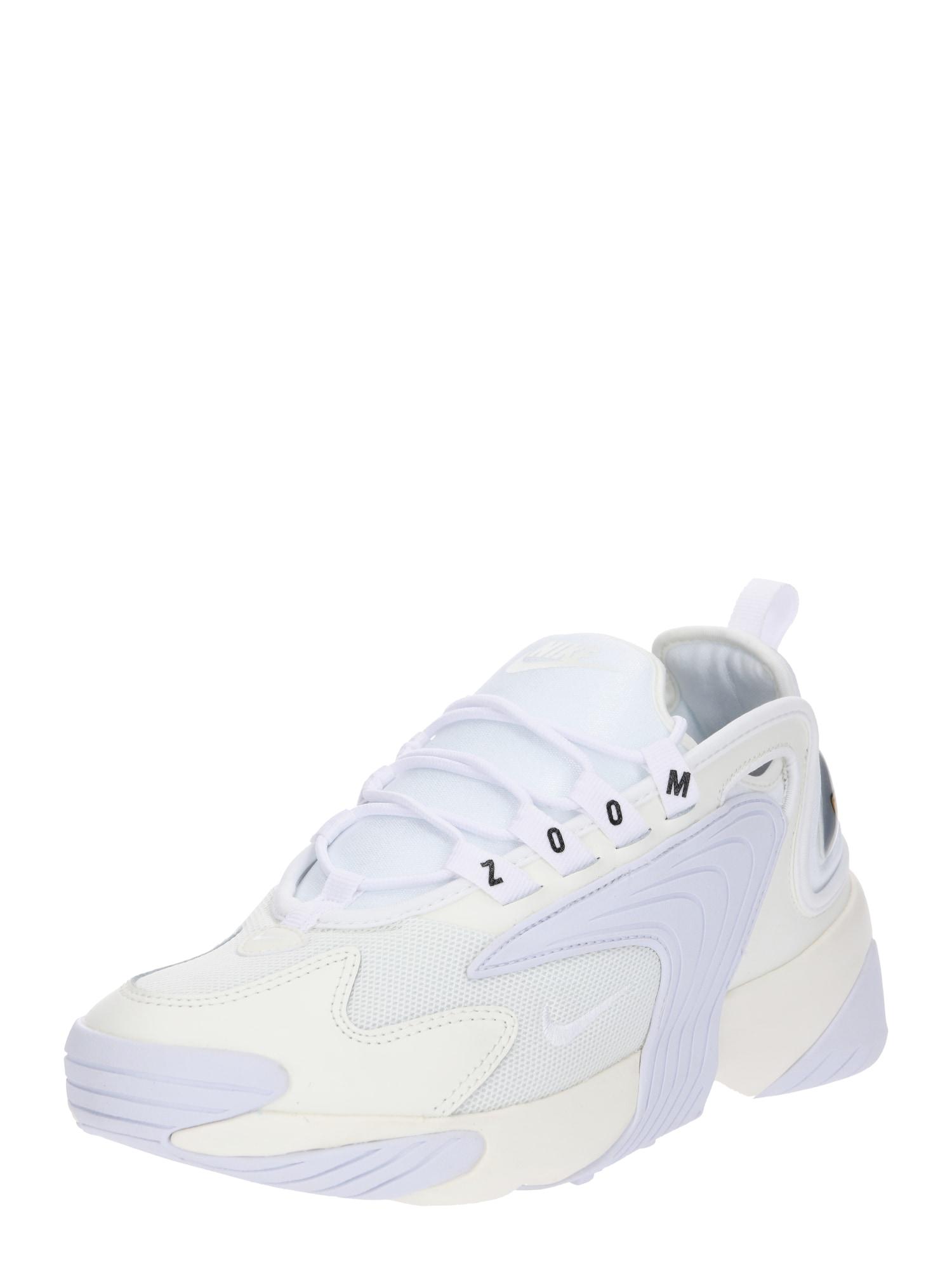 Nike Sportswear Sportbačiai be auliuko 'Zoom 2K' balkšva / balta