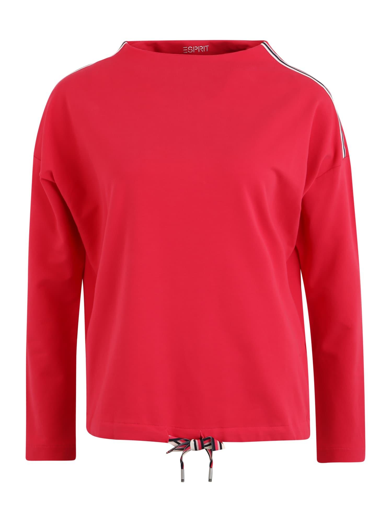 ESPRIT SPORTS Sportinio tipo megztinis uogų spalva