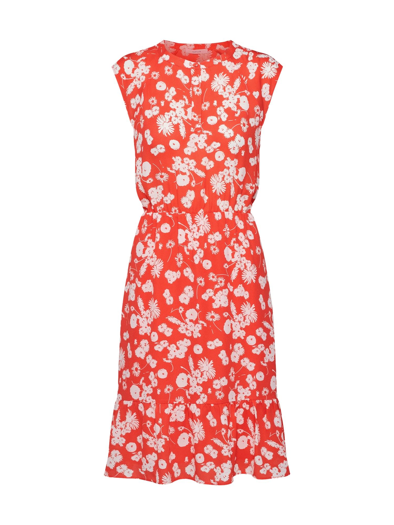 Šaty Wolise oranžově červená OPUS