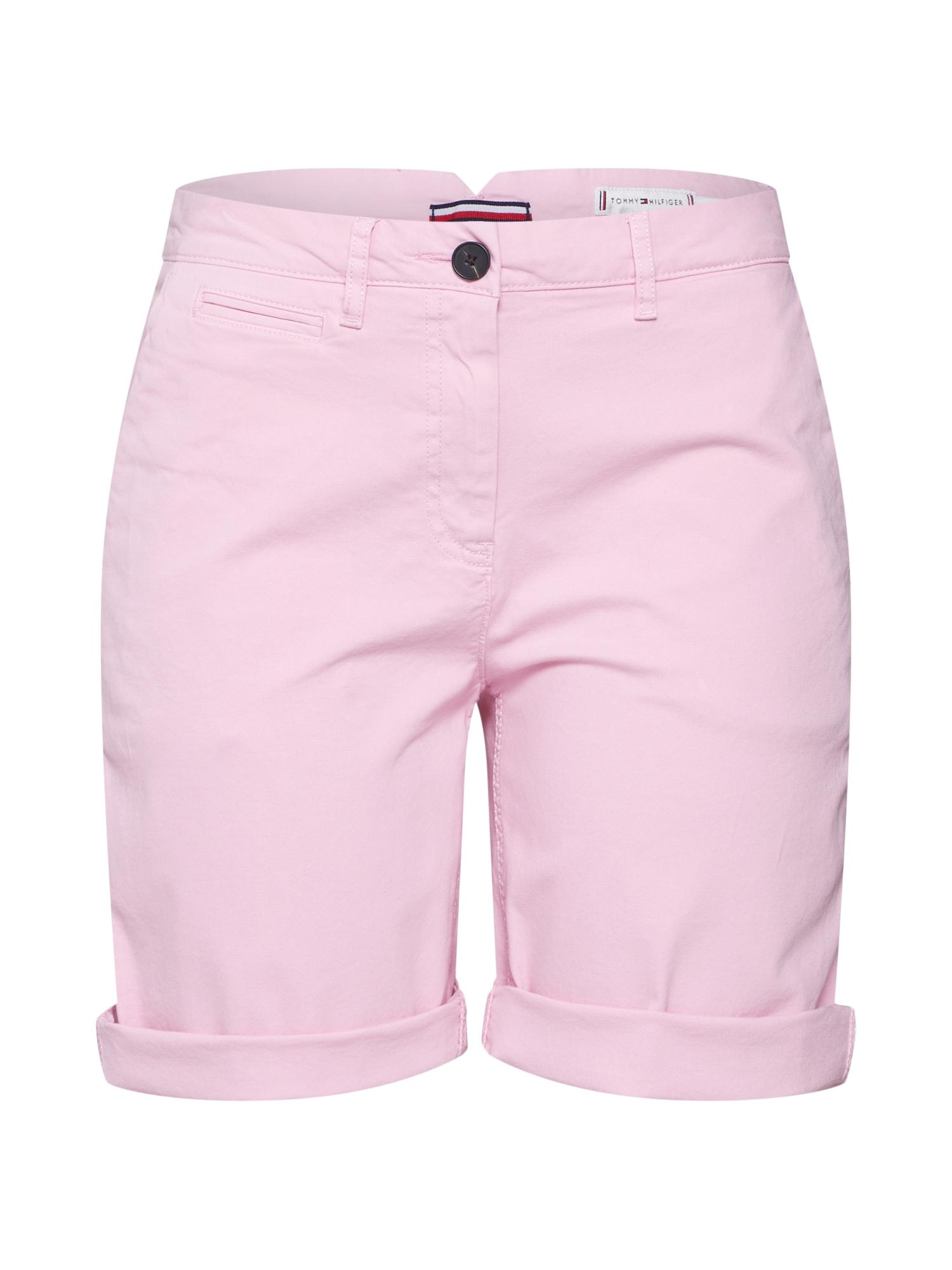 Chino kalhoty HUNTER pink růžová TOMMY HILFIGER