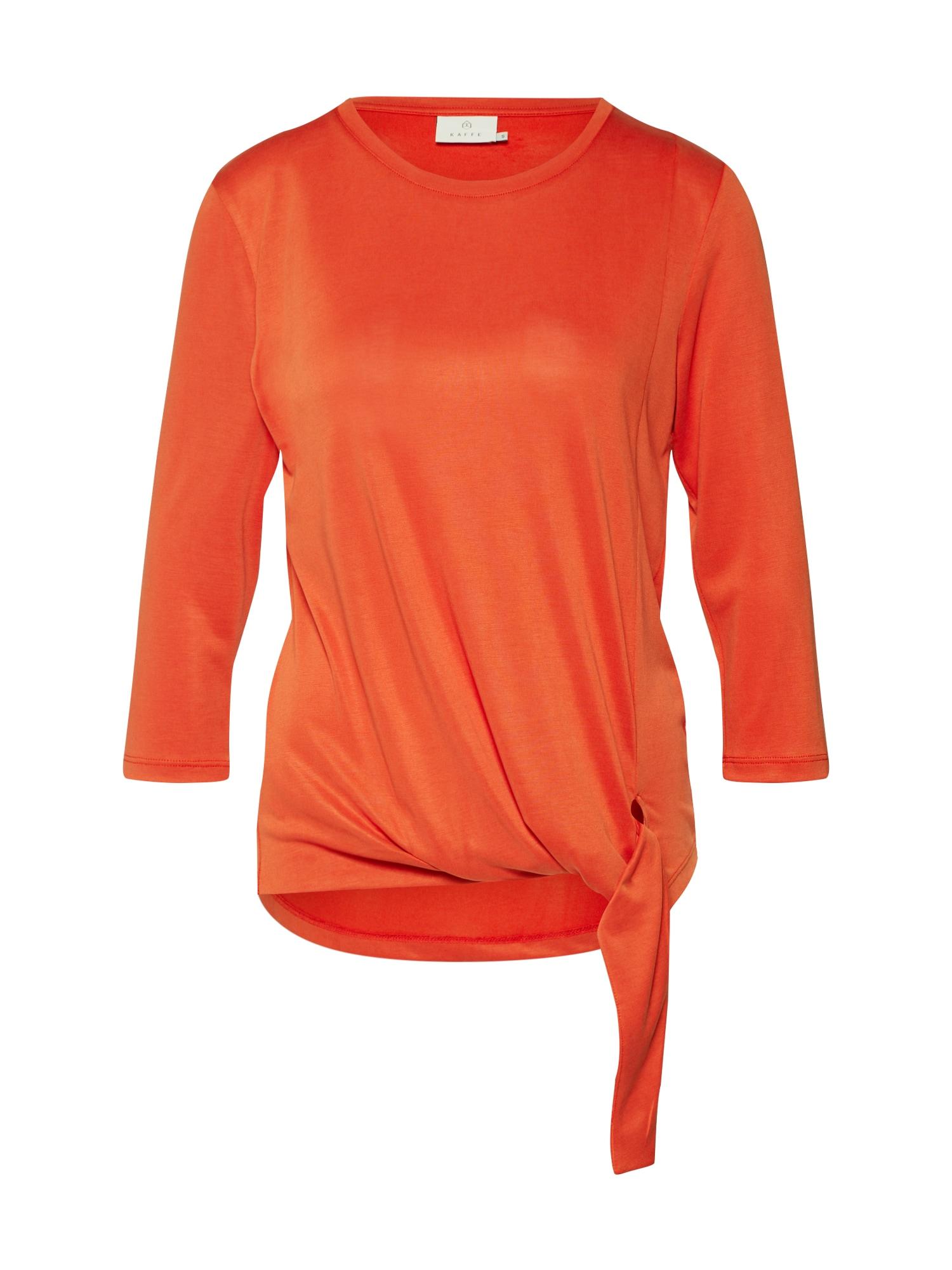 Kaffe Marškinėliai 'Holle' oranžinė