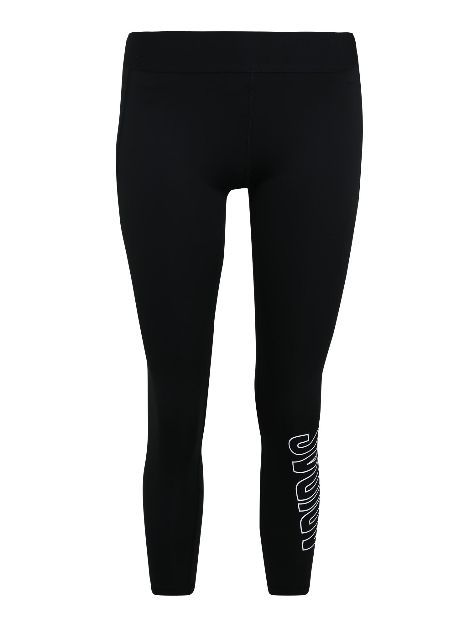 ADIDAS PERFORMANCE Sportinės kelnės 'Alpha Skin' juoda