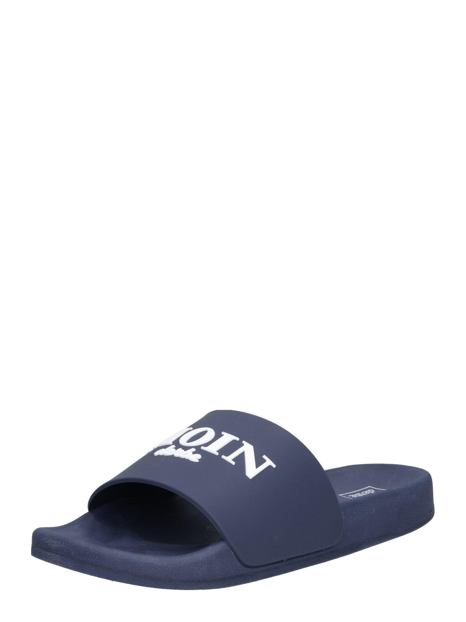 Pantofle Buddellette marine modrá Derbe