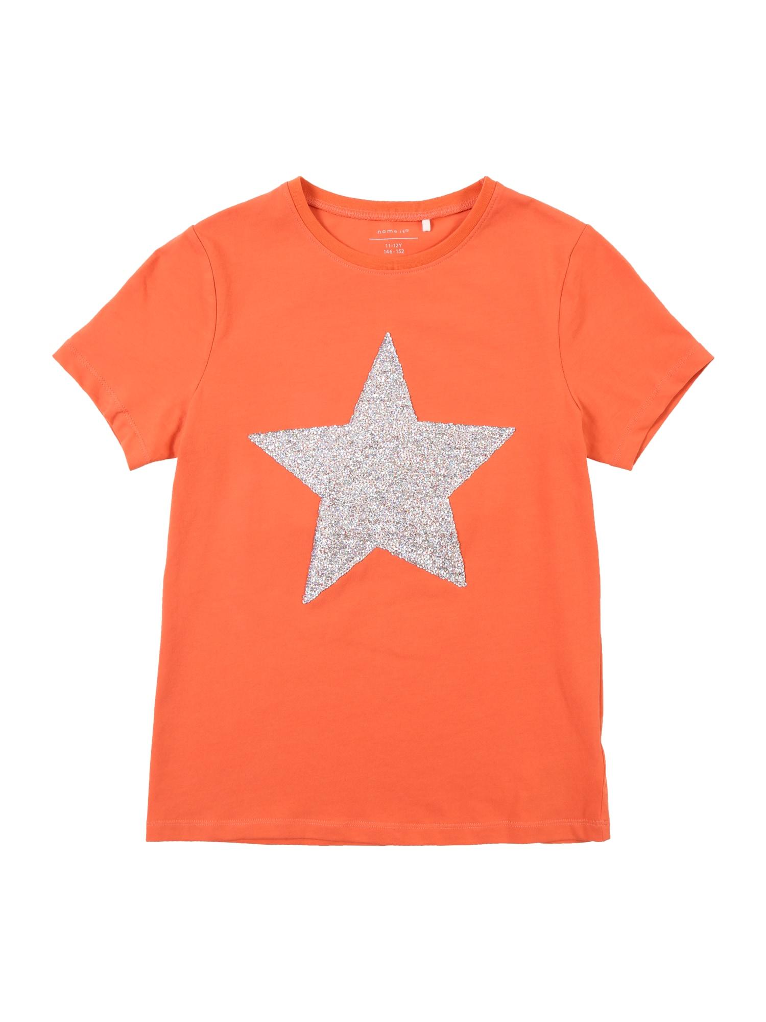 Tričko NKFHASTAR oranžová NAME IT