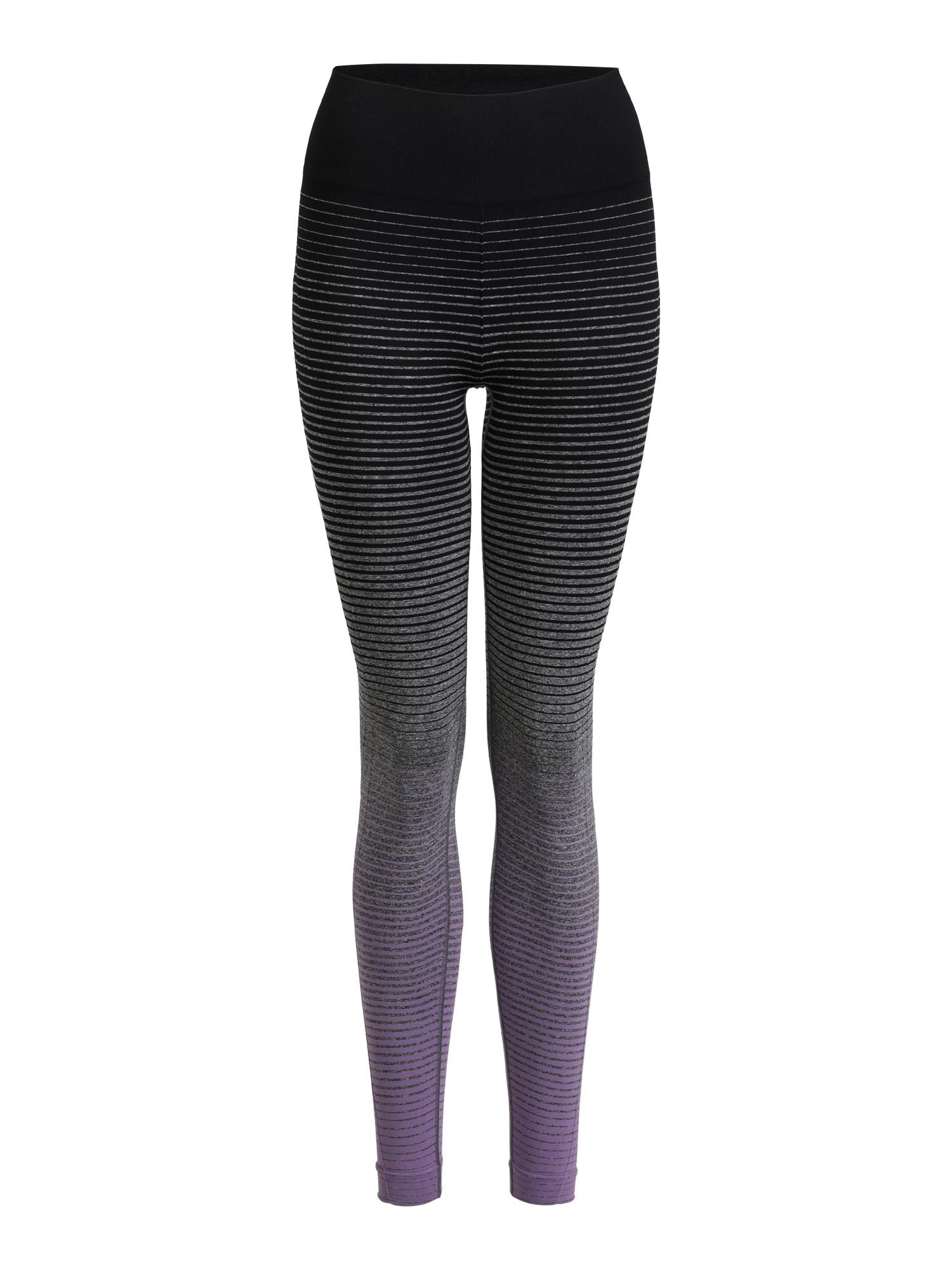 Sportovní kalhoty tmavě šedá fialová černá Marika