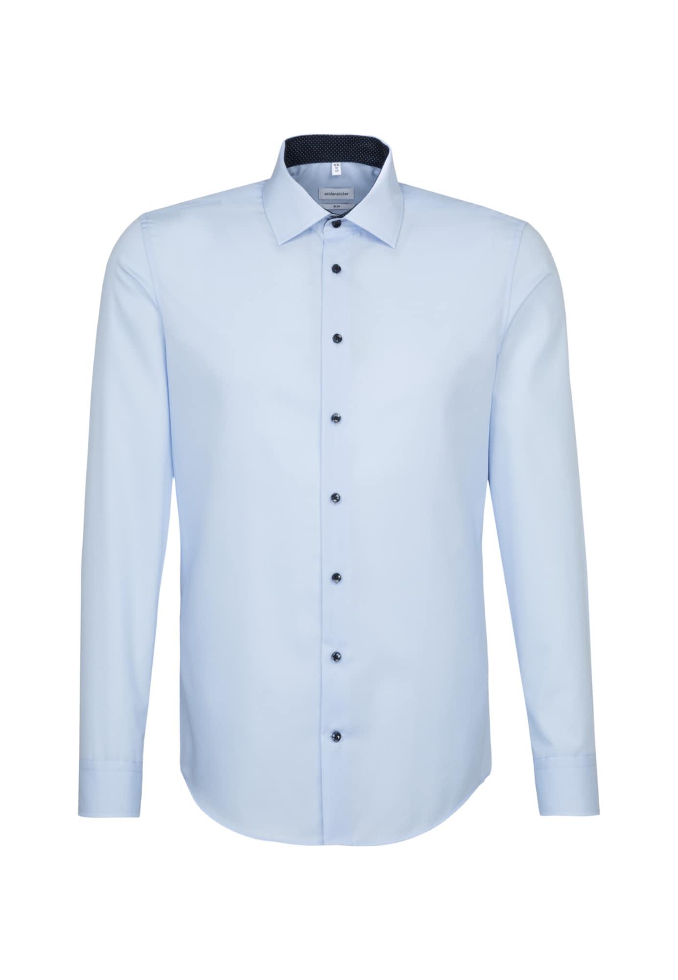 SEIDENSTICKER Dalykinio stiliaus marškiniai šviesiai mėlyna