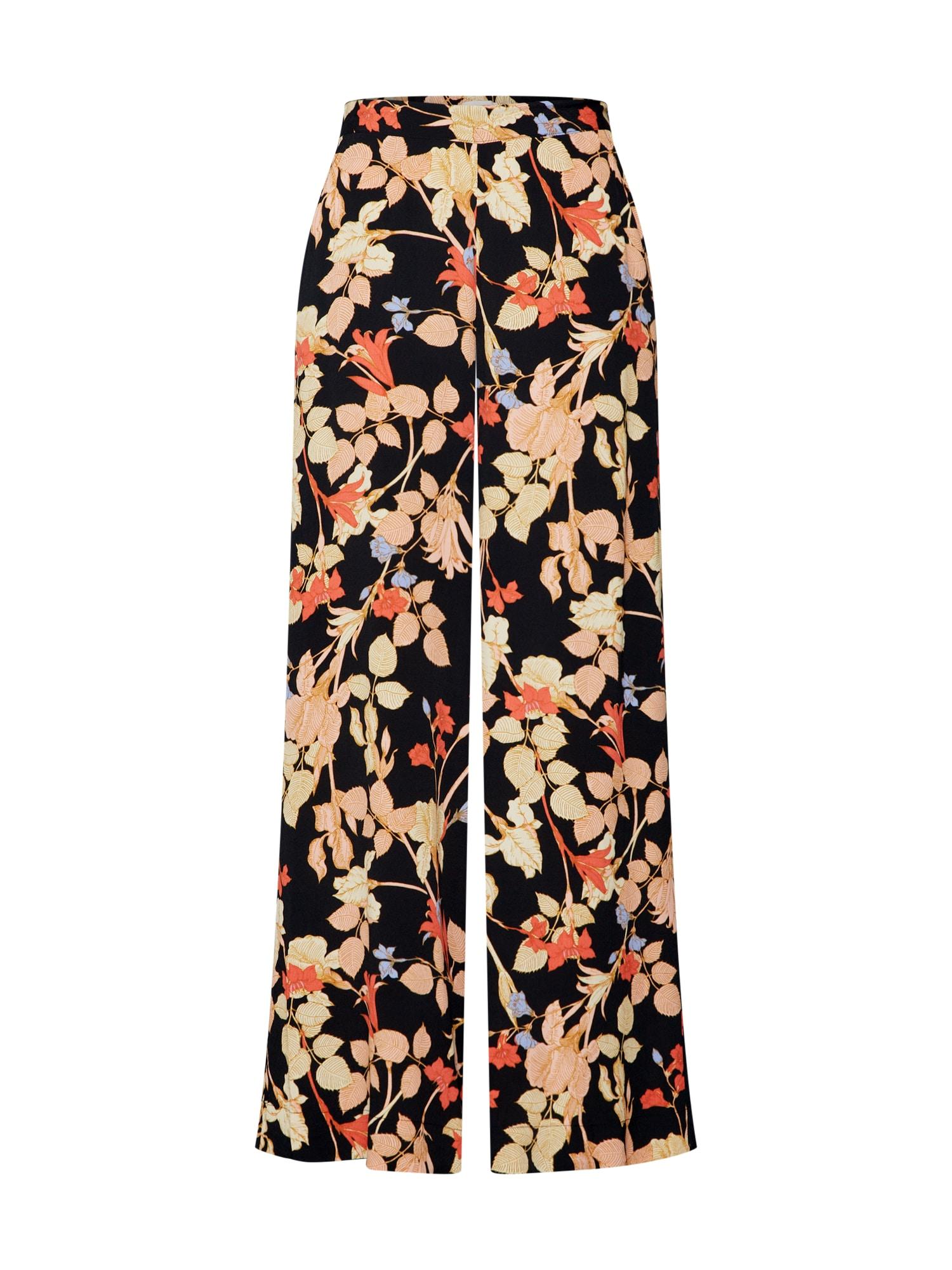 Kalhoty SL Amma Pants mix barev černá SOAKED IN LUXURY