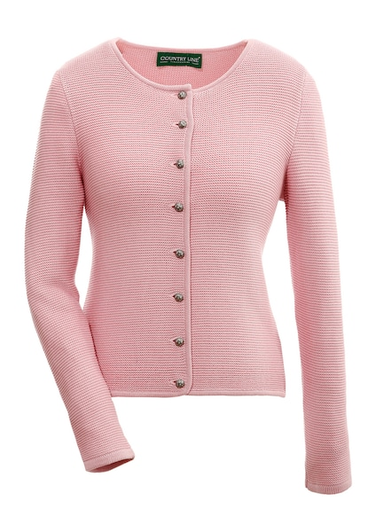 Jacken - Strickjacke › COUNTRY LINE › rosa  - Onlineshop ABOUT YOU