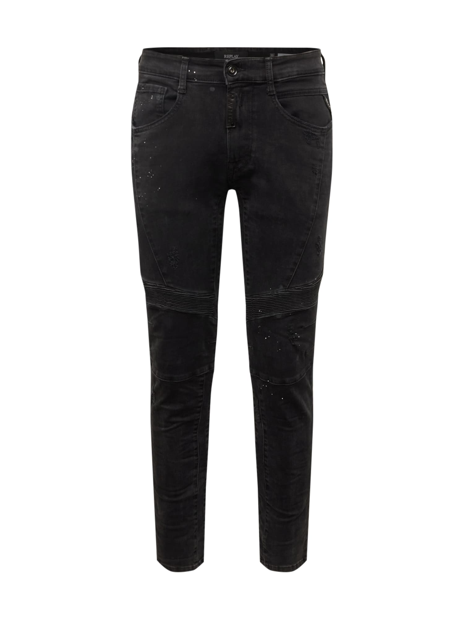 REPLAY Jeans 'ZALDOK'  denim negru