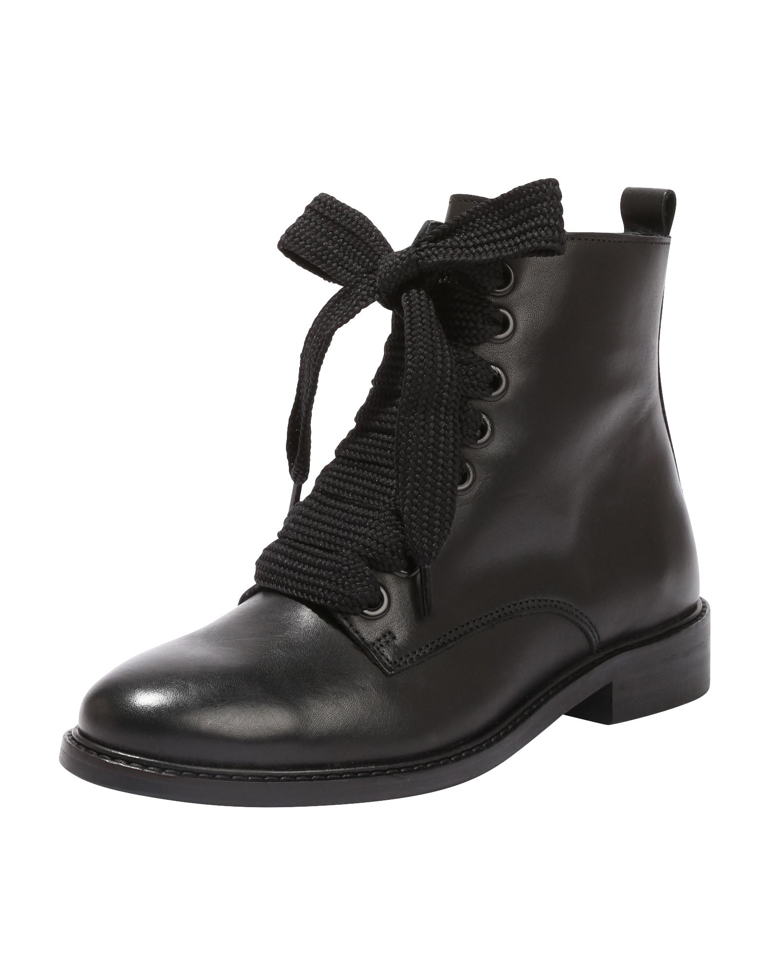 EDITED Suvarstomieji kulkšnis dengiantys batai 'Marlin' juoda