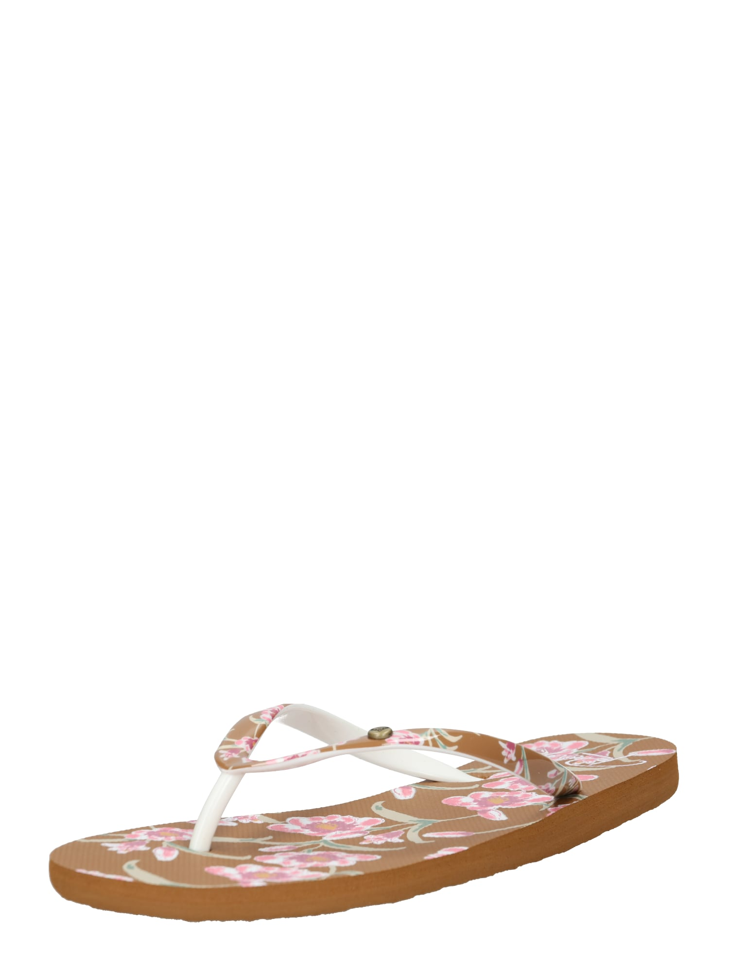 Pantofle PORTOFINO II hnědá růžová ROXY