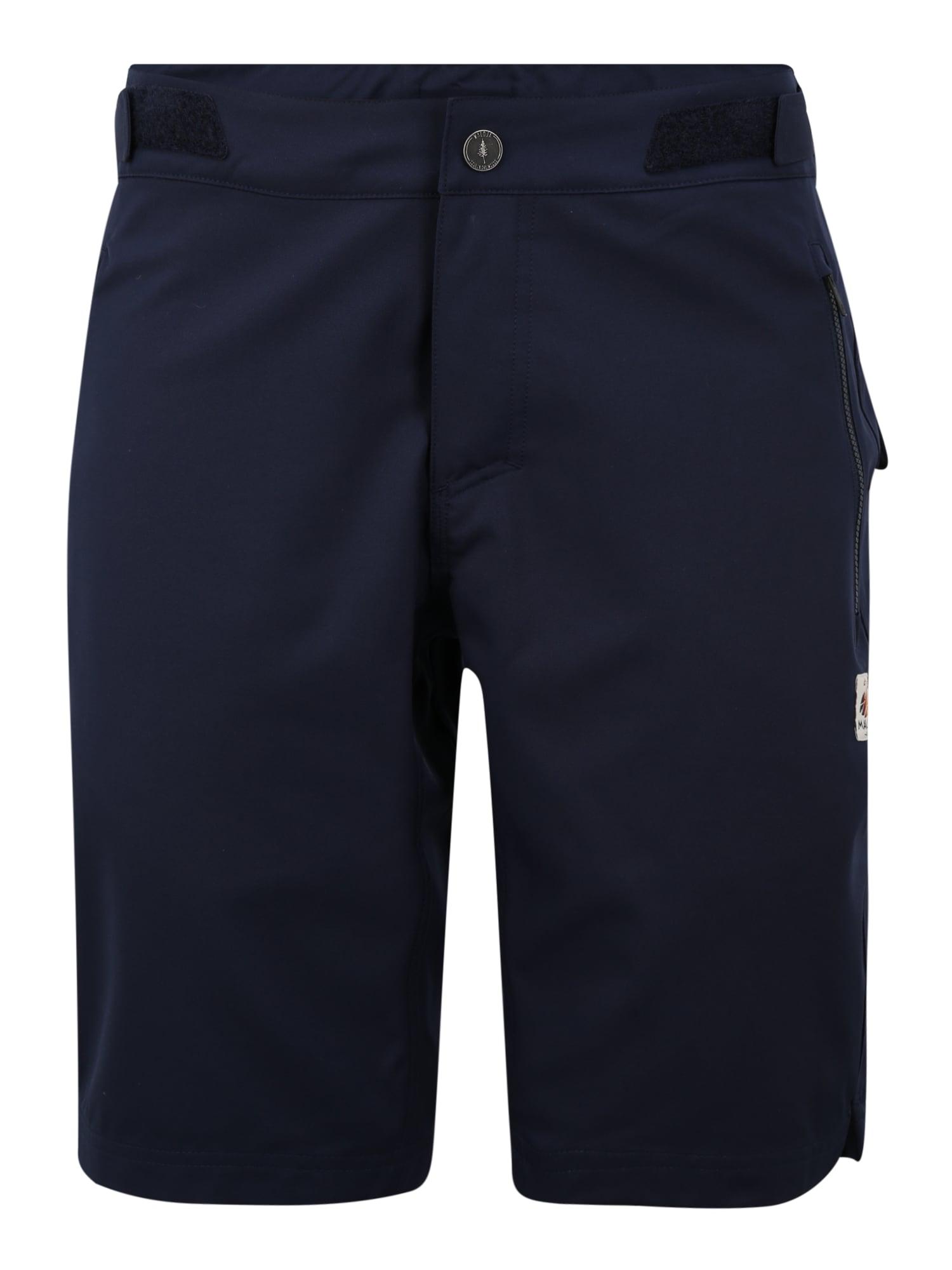 Maloja Sportinės kelnės 'BardinM.' nakties mėlyna