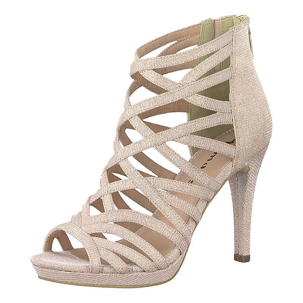 Sandalen für Frauen - Sandaletten › tamaris › rosegold  - Onlineshop ABOUT YOU