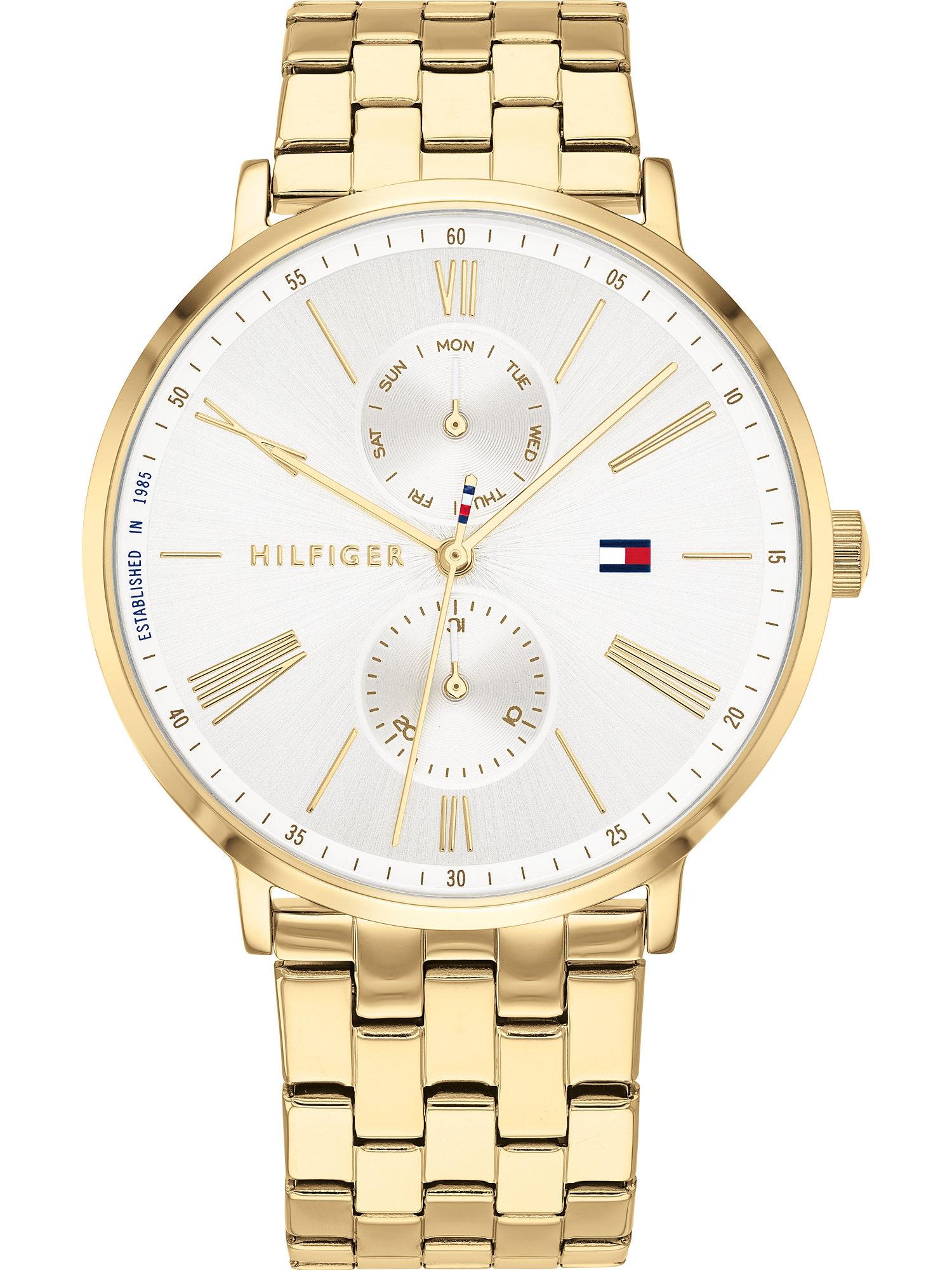 TOMMY HILFIGER Analoginis (įprasto dizaino) laikrodis auksas