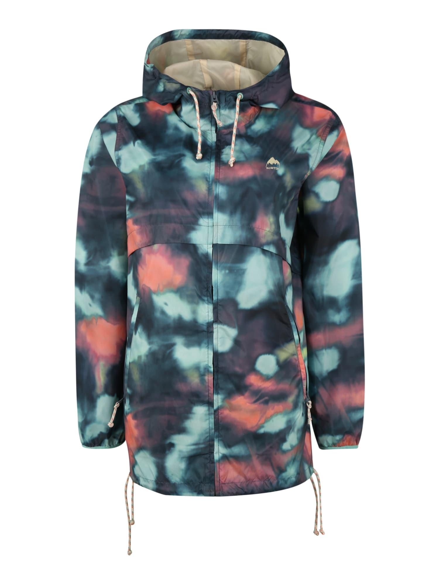 BURTON Žieminė striukė 'Hazlett Packable' persikų spalva / nakties mėlyna / vandens spalva