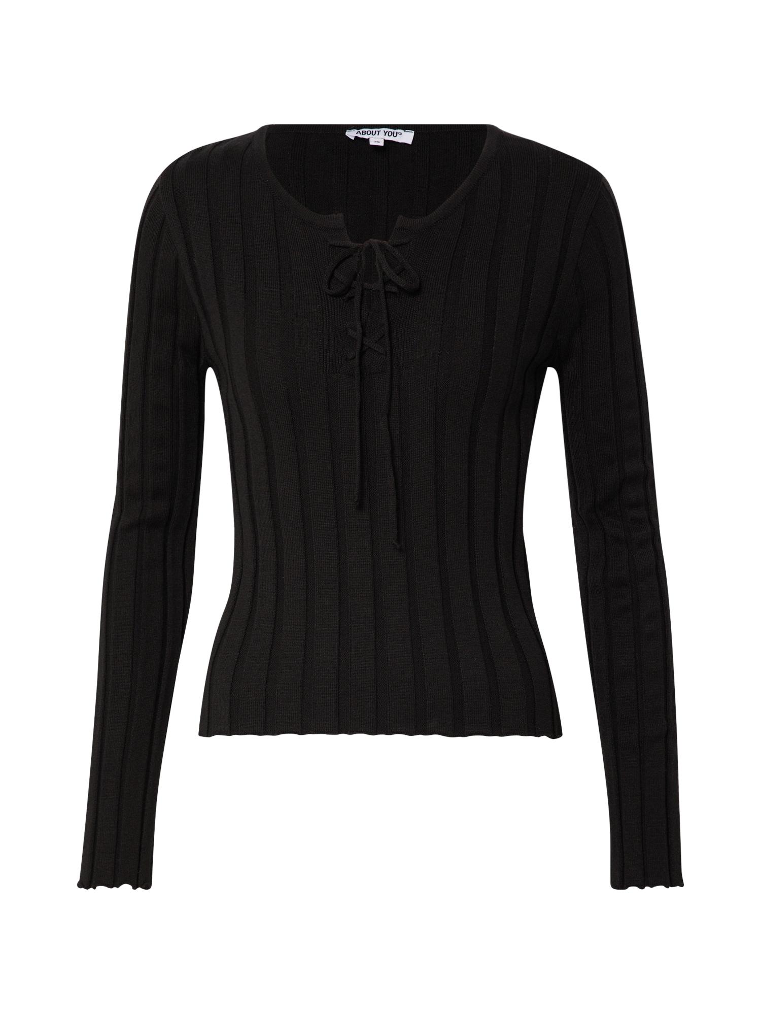 ABOUT YOU Marškinėliai 'Inola' juoda
