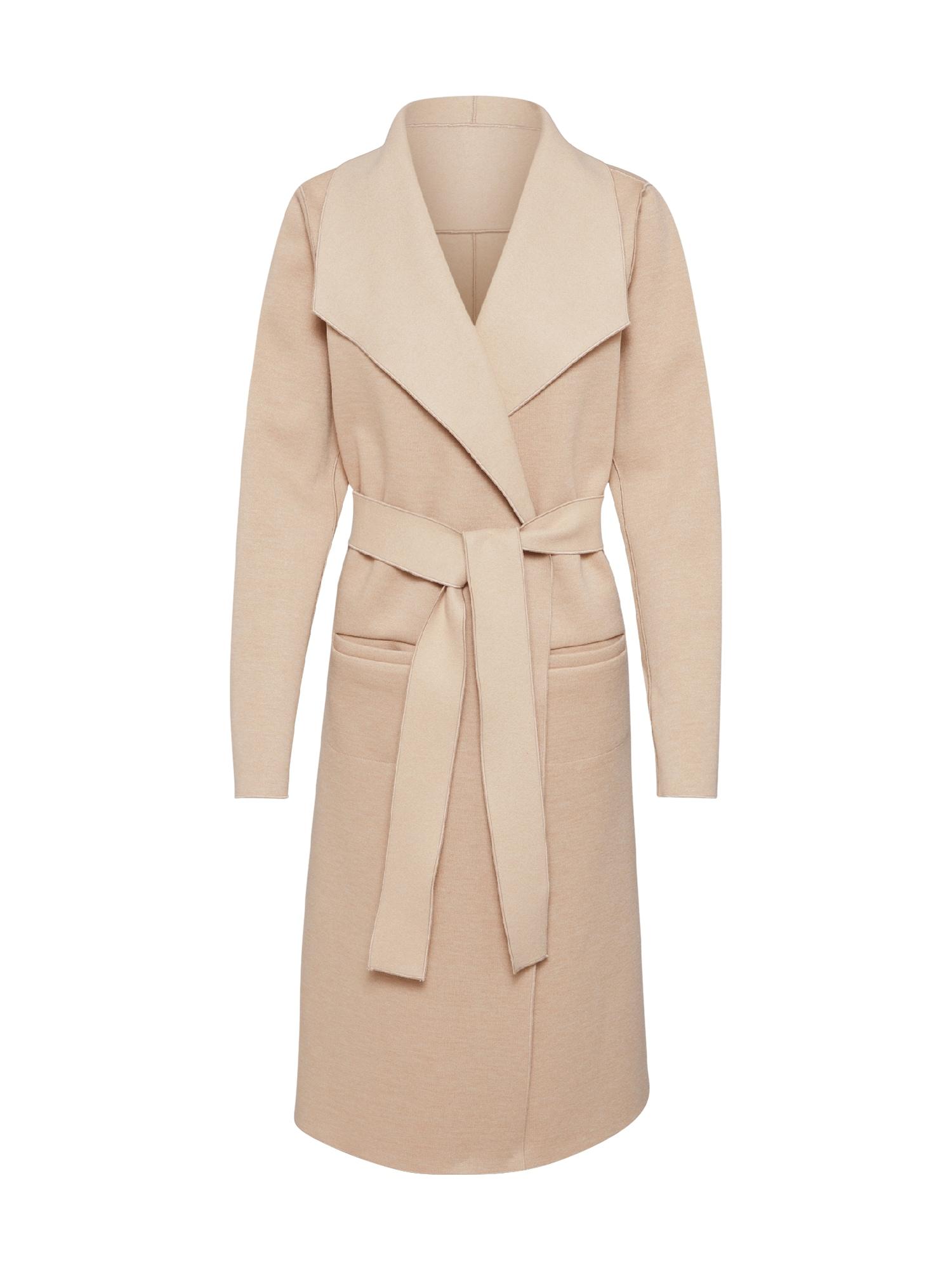VILA Rudeninis-žieminis paltas 'JUICE' smėlio