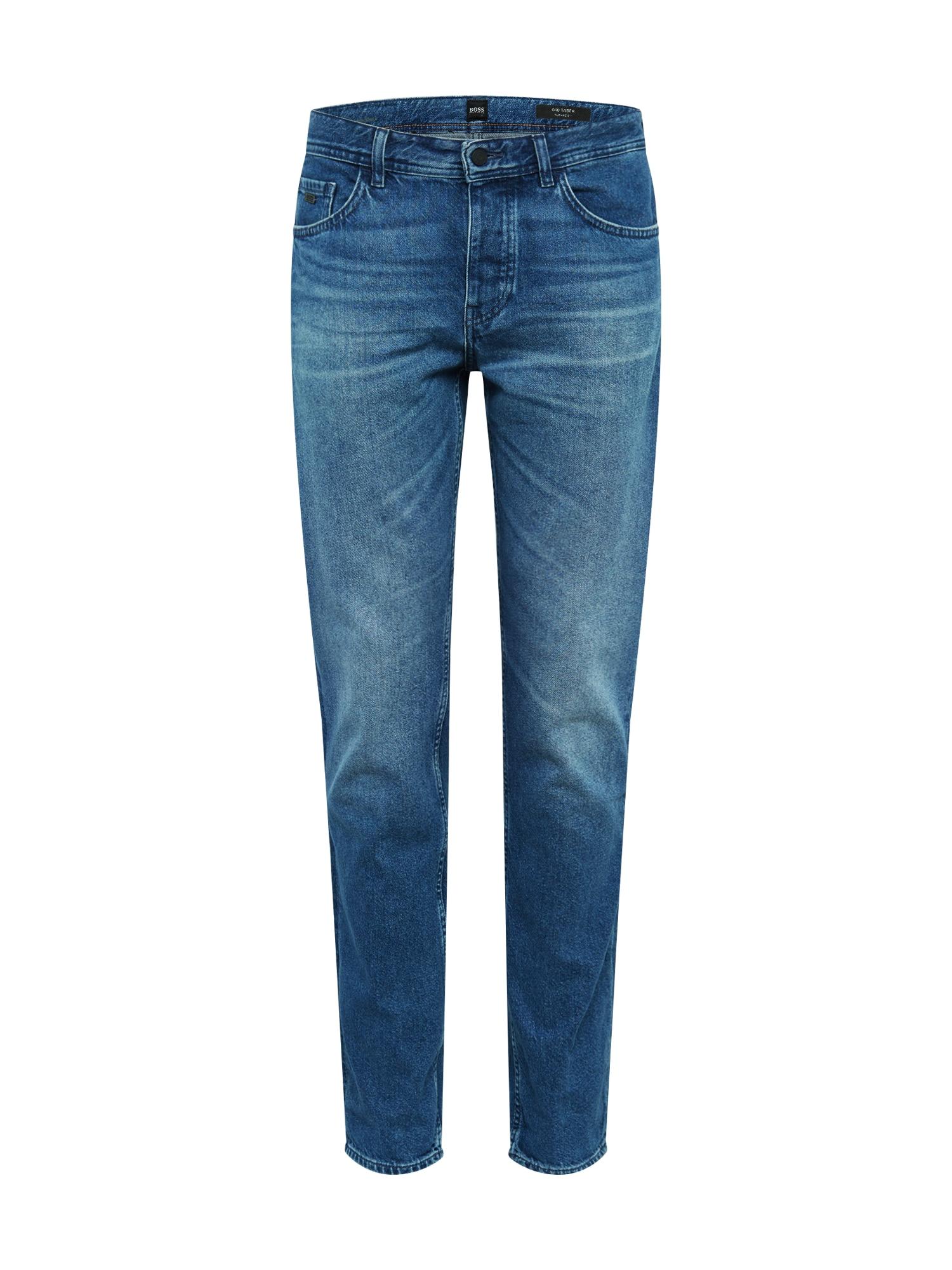 BOSS Džinsai 'Taber BC' tamsiai (džinso) mėlyna