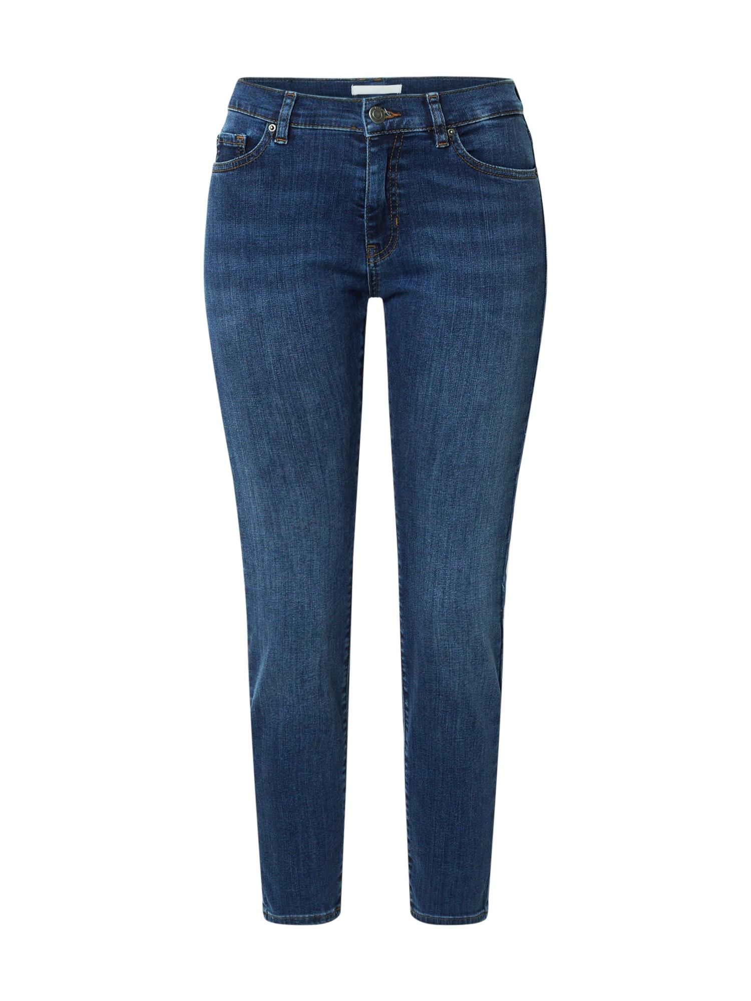 BOSS Džinsai tamsiai (džinso) mėlyna
