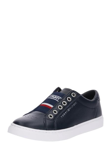 Sneakers für Frauen - Sneaker 'Venus 8C1' › Tommy Hilfiger › navy feuerrot weiß  - Onlineshop ABOUT YOU