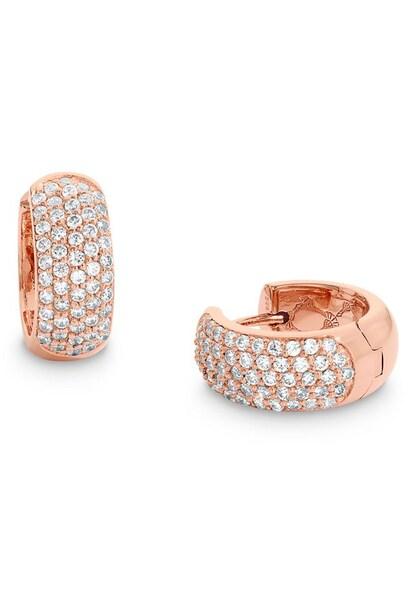 Ohrringe für Frauen - JOOP! Creolen '2023554' rosegold weiß  - Onlineshop ABOUT YOU
