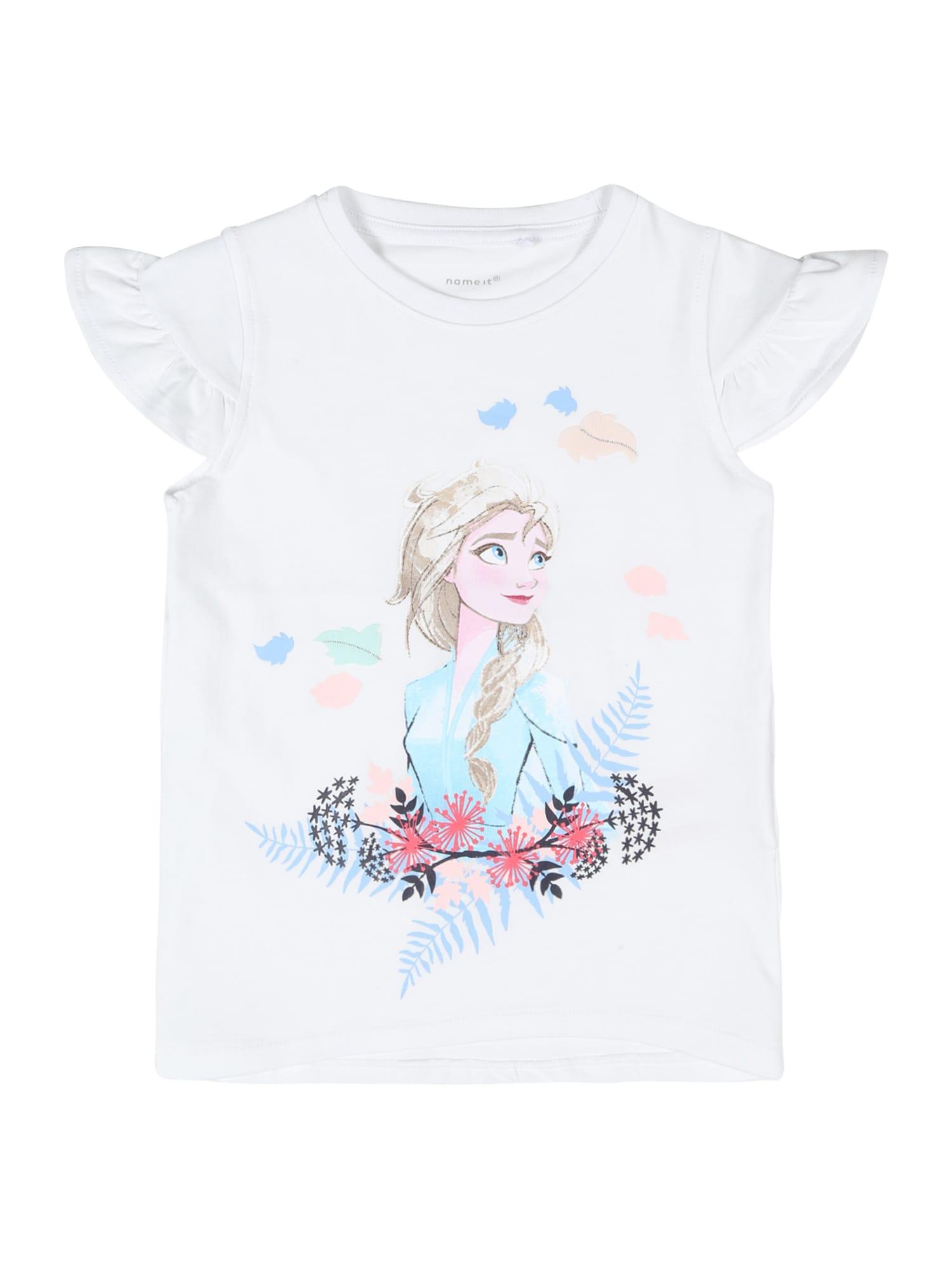 NAME IT Marškinėliai 'Frozen' balta