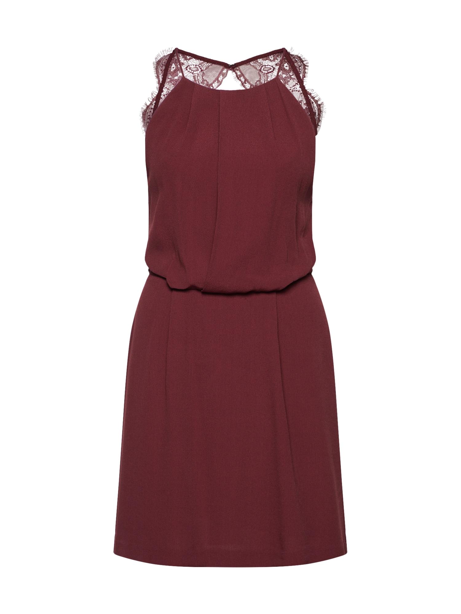 Letní šaty Willow 5687 vínově červená Samsoe & Samsoe