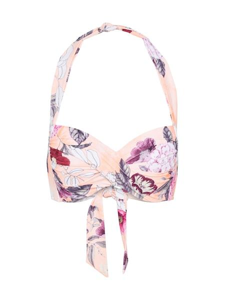 Bademode für Frauen - Seafolly Bikinitop 'Twist Soft Cup Halter' apricot pink  - Onlineshop ABOUT YOU