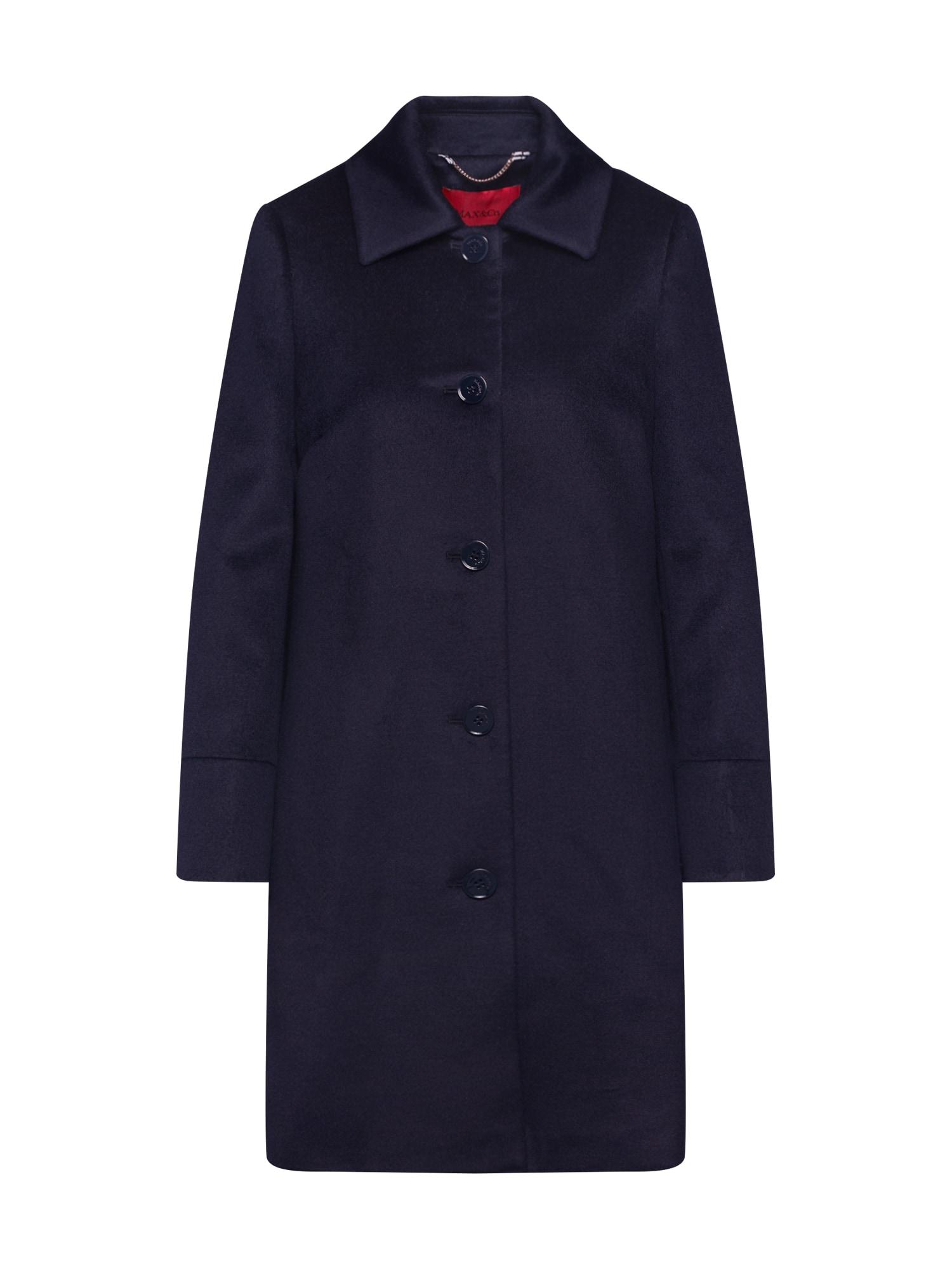 MAX&Co. Rudeninis-žieminis paltas 'JET' tamsiai mėlyna