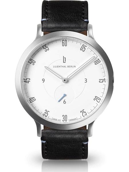 Uhren für Frauen - Lilienthal Berlin Uhr hellblau schwarz silber weiß  - Onlineshop ABOUT YOU