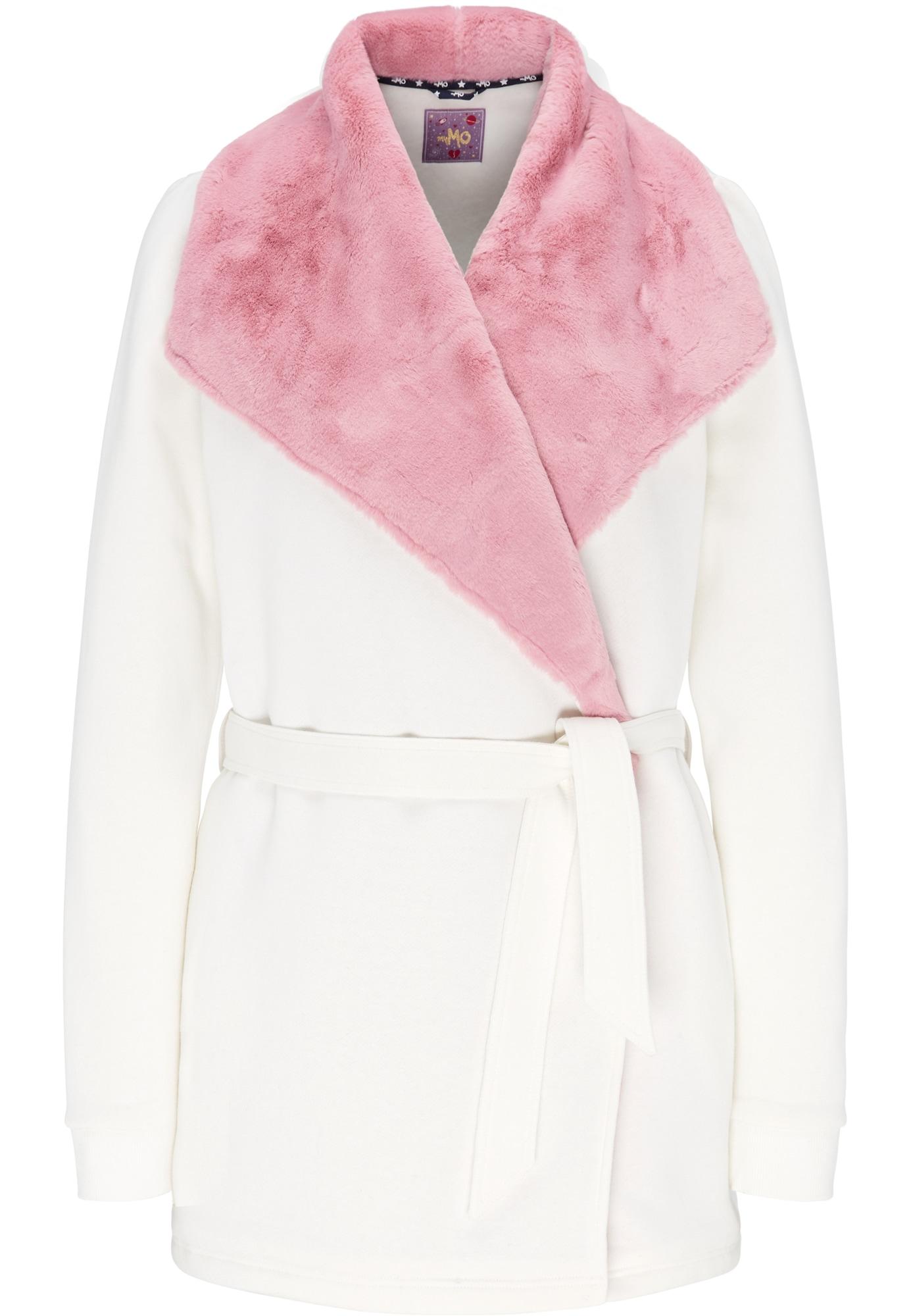 MYMO Džemperis balta / rožių spalva