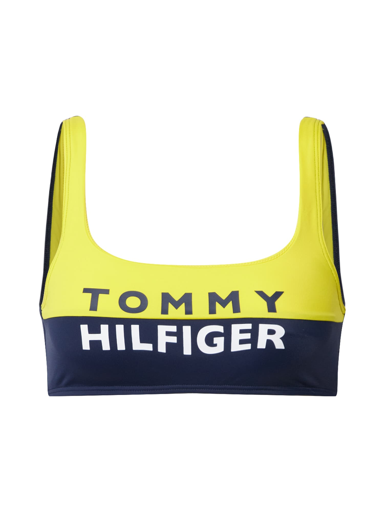 Tommy Hilfiger Underwear Liemenėlė geltona / juoda