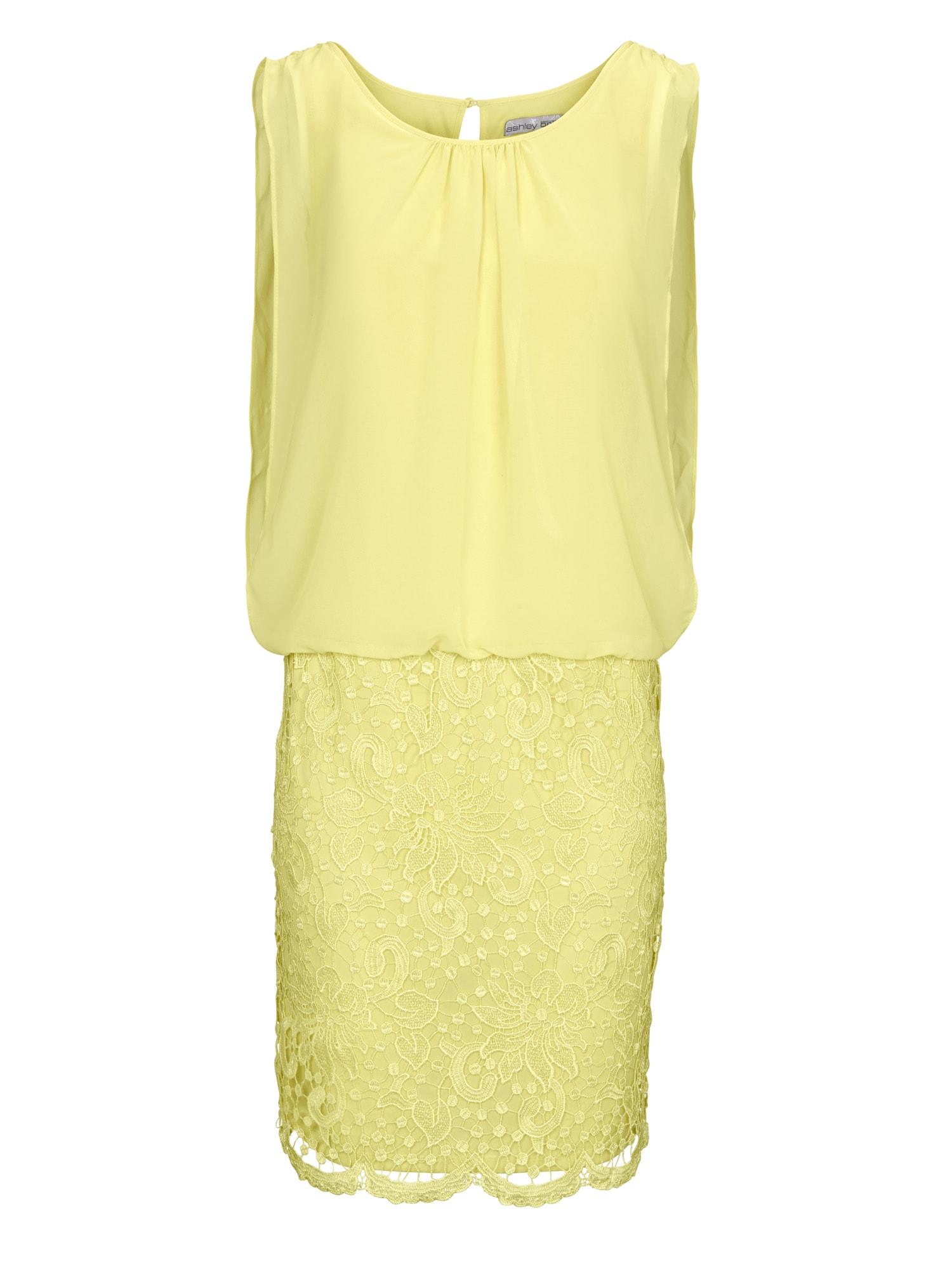 heine Šaty  žlté