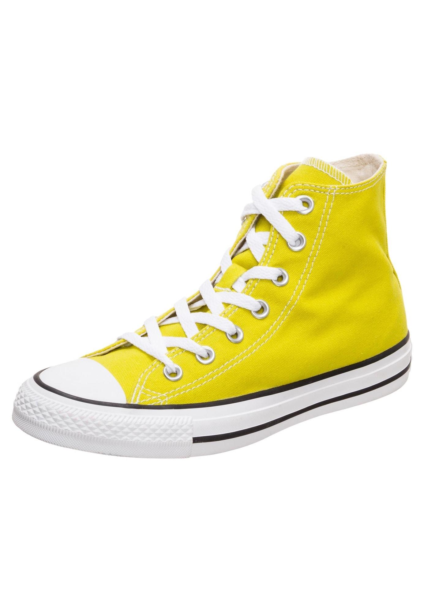 Kotníkové tenisky Chuck Taylor All Star žlutá bílá CONVERSE