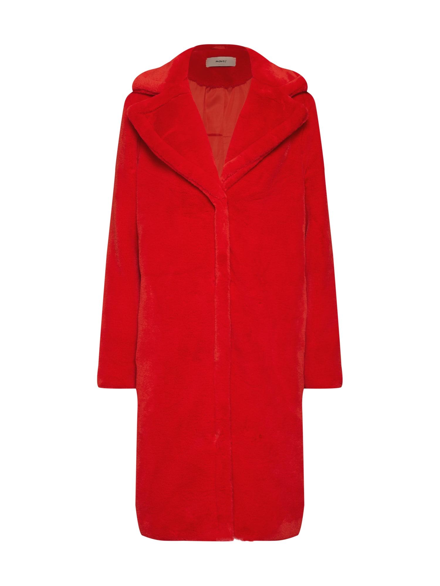 Zimní kabát Riella červená Moves