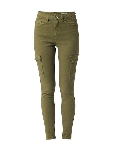 Hosen - Jeans 'utility hr skin Pants denim' › EDC BY ESPRIT › khaki  - Onlineshop ABOUT YOU